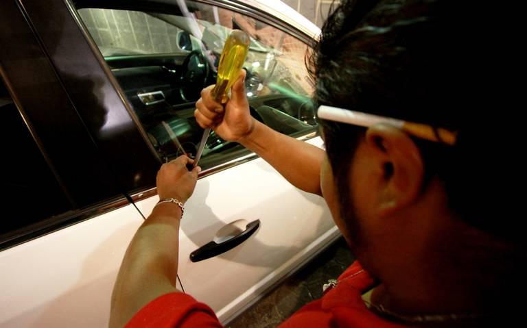 Miércoles, el día en que más roban autos