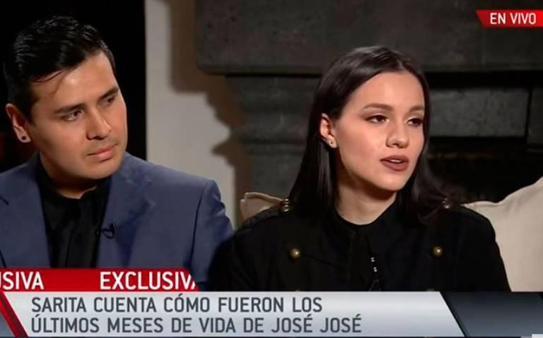 Sarita dice que no tienen dinero suficiente para funeral de José José