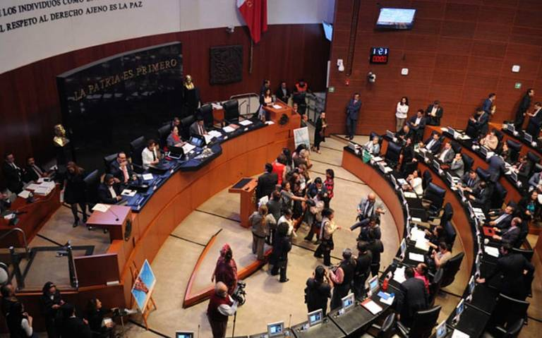 Senadores dejan en suspenso elección de nuevo titular de CNDH