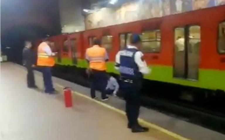 Se va por la puerta falsa, al arrojarse a las vías del Metro Copilco