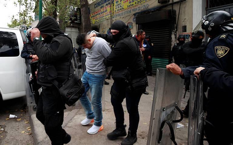 """No fabricamos culpables"", García Harfuch sobre operativo en Tepito"