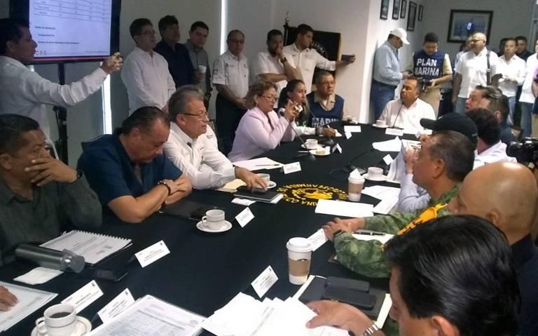 Ratifica Héctor Astudillo declaratoria de Desastre para que se activen recurso del FONDEN