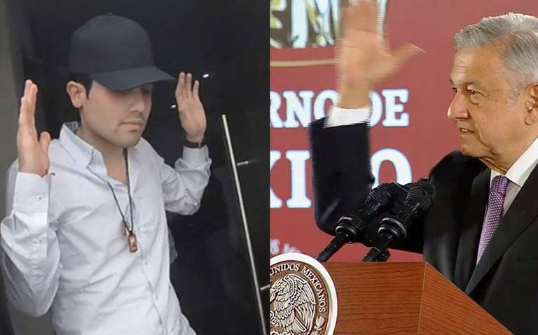 Recaptura y orden de extradición contra Ovidio Guzmán siguen vigentes: AMLO