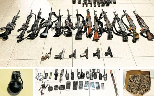 Civiles abatidos en Guerrero portaban arsenal