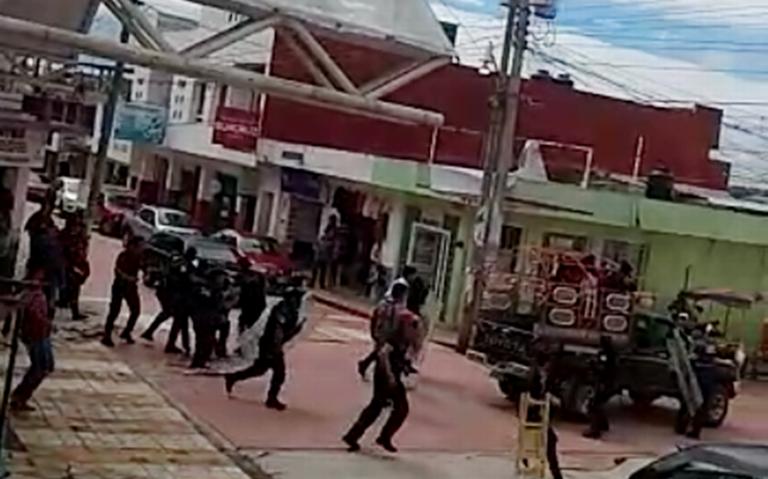 Detienen a 11 sujetos por violencia en Las Margaritas