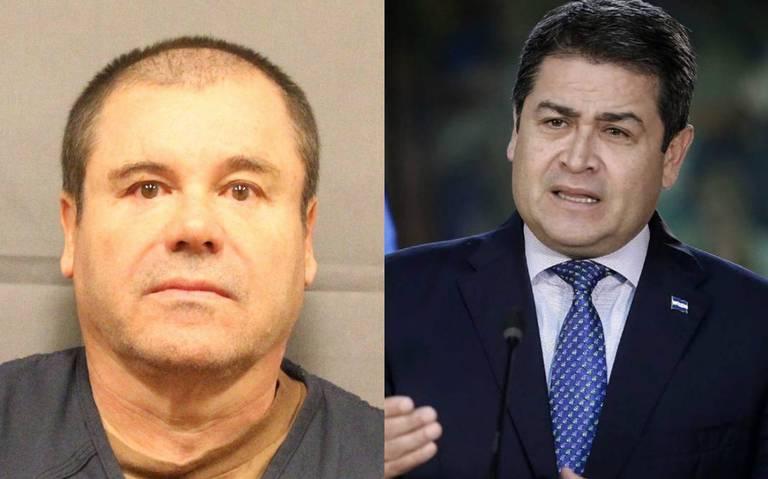 Presidente de Honduras recibió millones de dólares de El Chapo: fiscal de EU