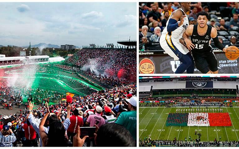 Conoce los eventos deportivos que se celebrarán en México