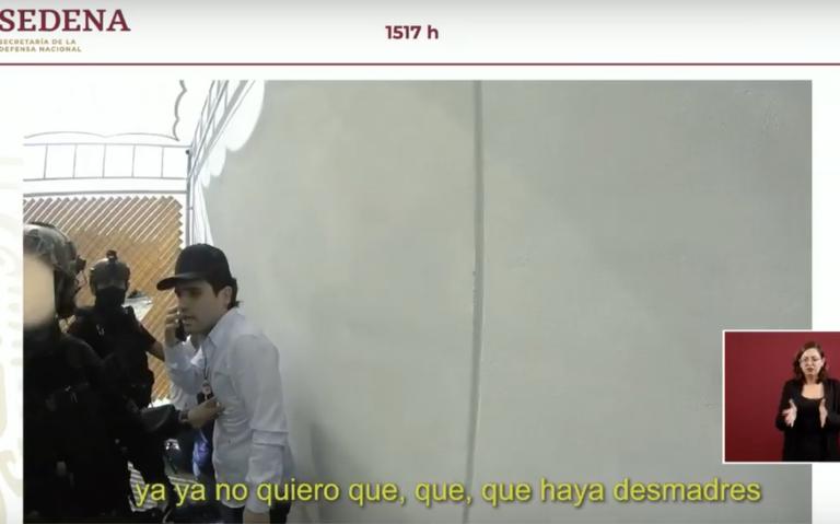 """[Video] """"Diles que paren todo esto"""", así detuvieron a Ovidio Guzmán, hijo de El Chapo"""