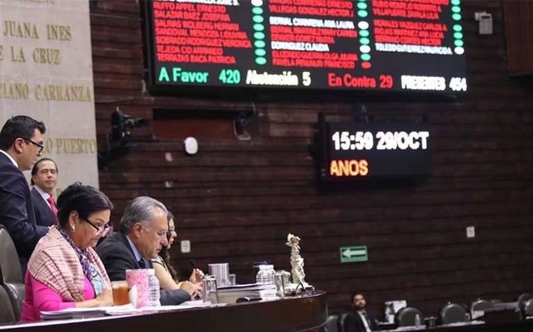 Diputados aprueban eliminar fuero presidencial