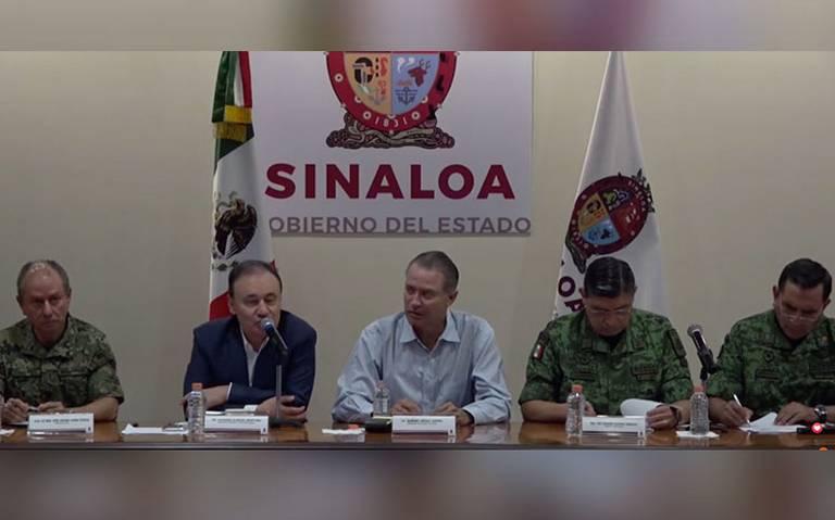 """""""No hay falta de Estado"""", Durazo sobre operativo contra hijo de El Chapo"""