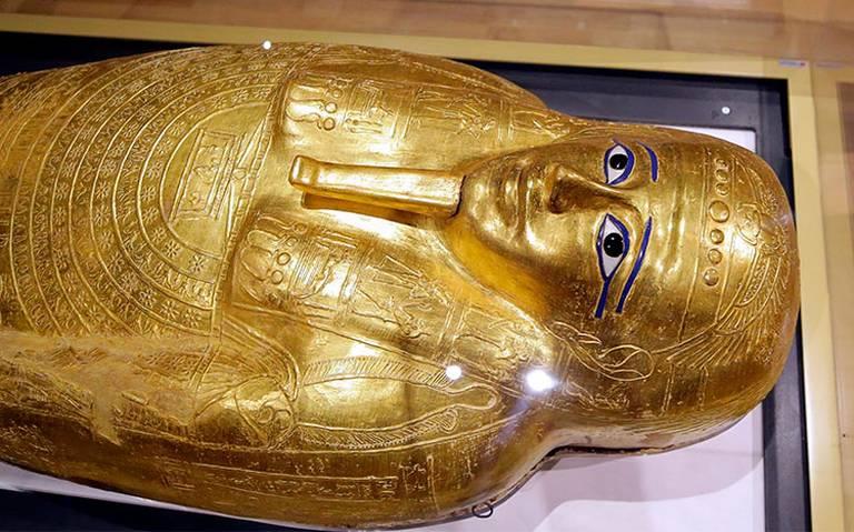 Egipto recupera de museo de Nueva York sarcófago saqueado