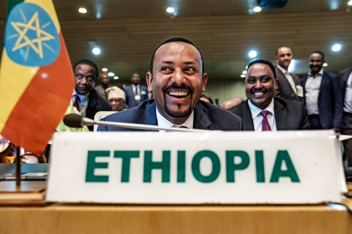 Otorgan Premio Nobel de la Paz 2019 al primer ministro de Etiopía, Abiy Ahmed