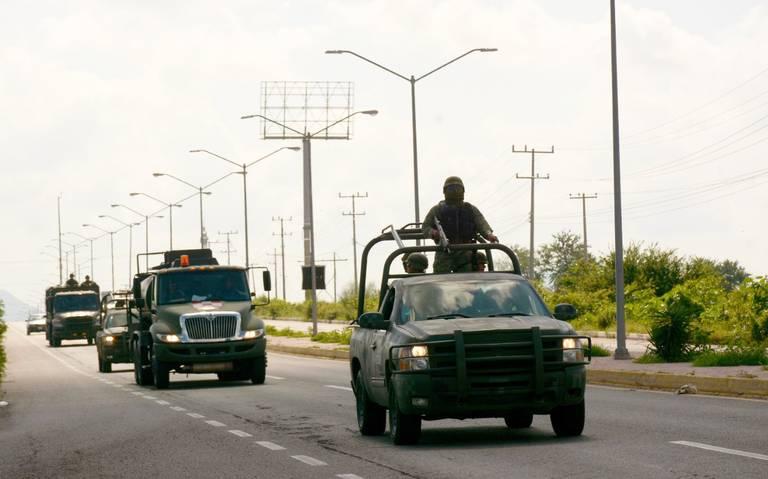 Por errores de mando, sometieron a soldados en Culiacán