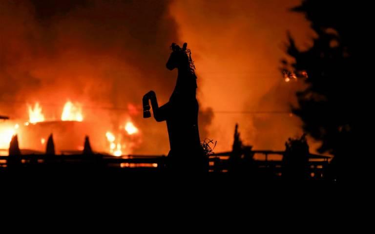 Incendio Kincade en norte de California entra en su quinto día
