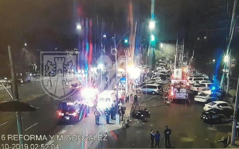 Incendio en edificio de Tlatelolco deja una persona muerta