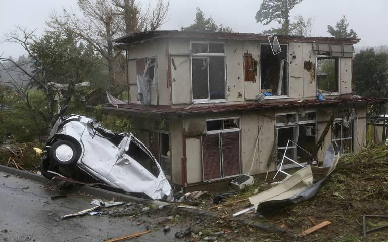 Lluvias nunca vistas y 4 muertos deja Hagibis en Japón