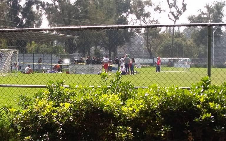 En pleno partido de futbol, asesinan a tiros a jugador en Cd. Deportiva