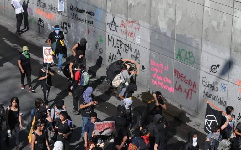 Violencia en marchas es innecesaria: Rosa Isela