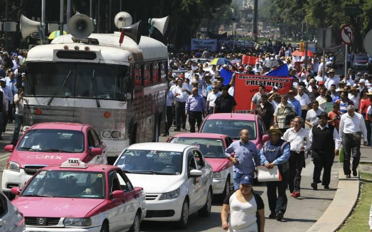 SSC desplegará más de mil policías en operativo vial por marcha de taxistas