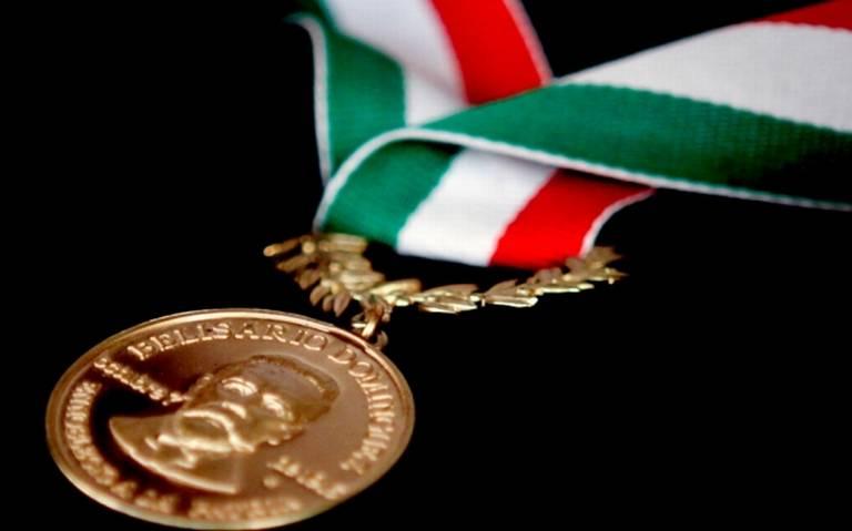 Buscan que Medalla Belisario Domínguez se otorgue a cuatro personas
