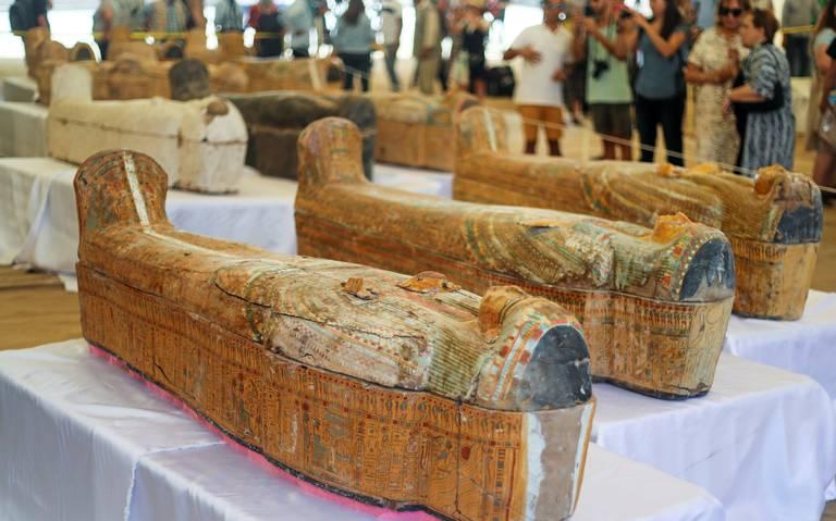 [Fotos] Encuentran 30 momias, con más de tres mil años, en Egipto