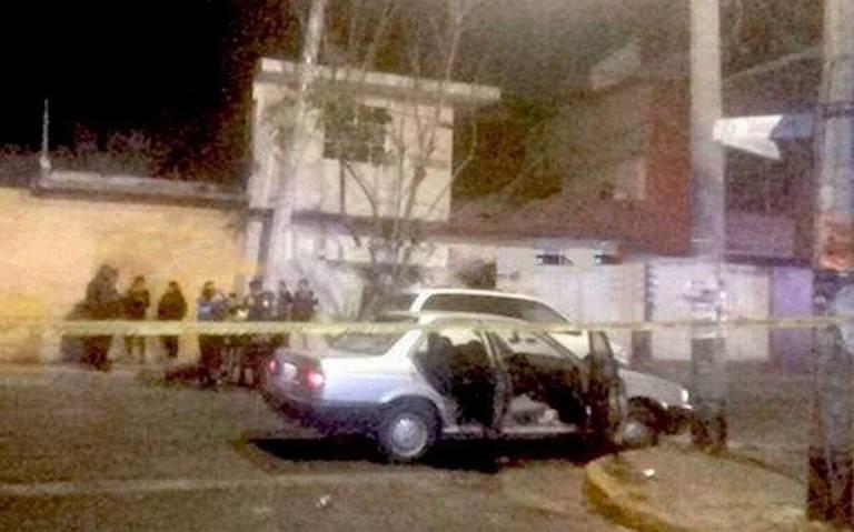 A balazos asesinan a una pareja en Ciudad Nezahualcóyotl