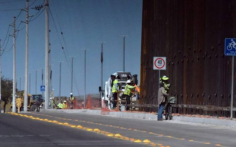 EU renueva el muro: van 106 kilómetros en la frontera con México