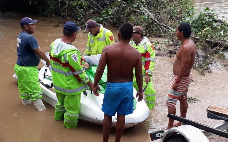 Suman dos muertos en Oaxaca por tormenta tropical Narda