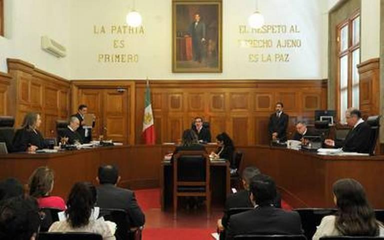 La SCJN solo regreso el fuero a jueces y magistrados, mil 598 funcionarios públicos ya no gozan del privilegio político