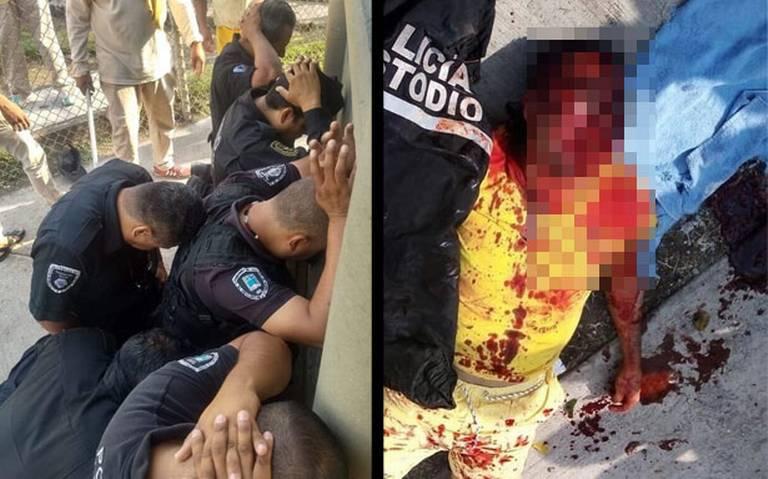 Presuntos decapitados y policías sometidos tras motín en penal de Morelos