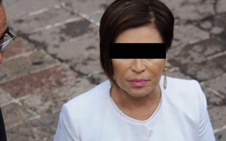 """""""Rosario Robles se queda en prisión"""", determina juez"""
