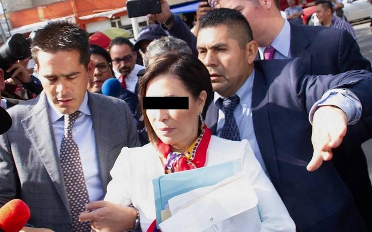Soy inocente, no tengo dinero para estar escapando, dice Rosario Robles a juez