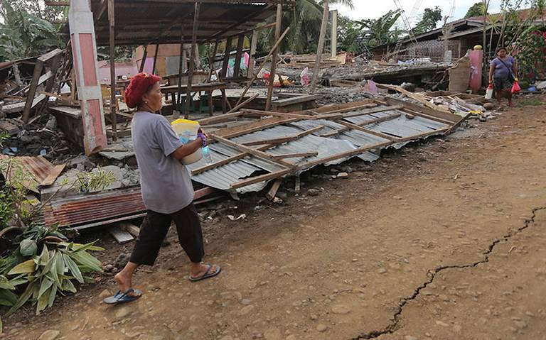 Sismo de 6.6 en Filipinas deja al menos seis muertos