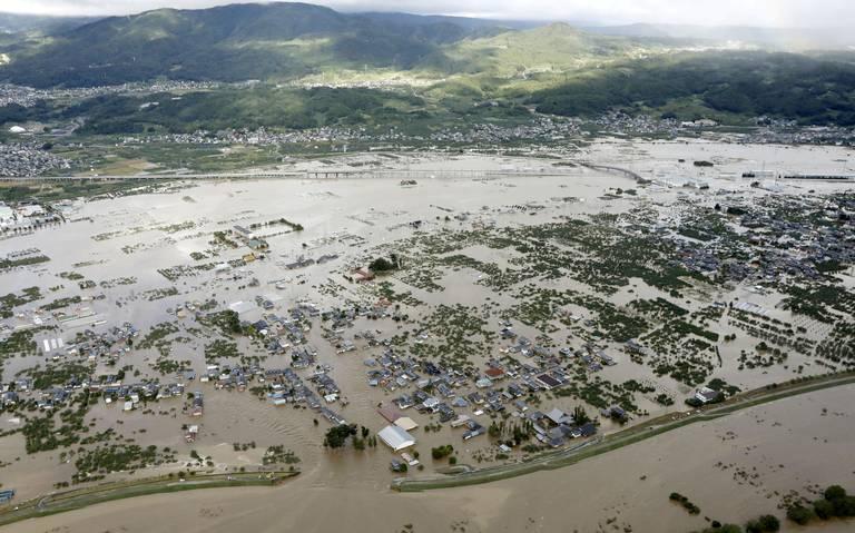 Japón busca sobrevivientes tras tifón Hagibis, que dejó más de 50 muertos