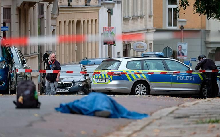 Tiroteo en Halle, Alemania, deja dos muertos