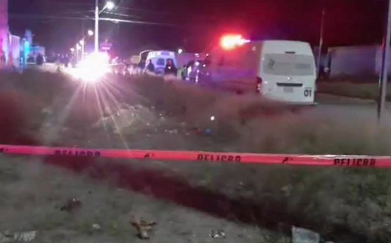 Cinco sujetos irrumpieron y acribillaron a tres en Aguascalientes