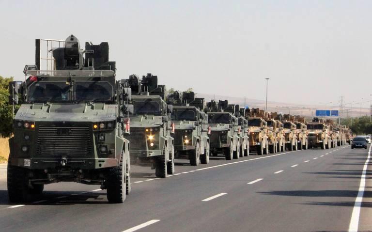 Reino Unido suspende exportaciones de armas a Turquía