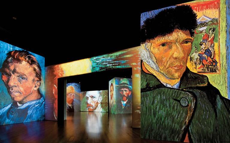 Haz un viaje por la vida y obra de Van Gogh con esta galería multisensorial