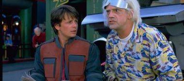Marty McFly y el Doc, a 4 años de su llegada al futuro