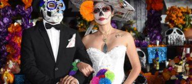 [Fotos] Deslumbra Catrina de OEM en desfile de Día de Muertos