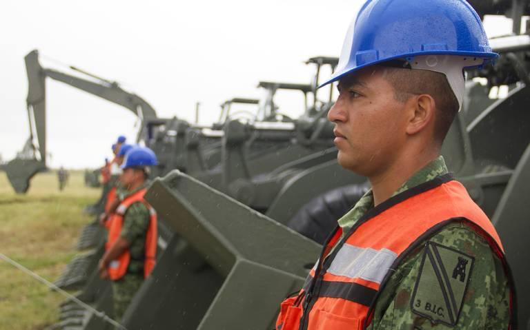 SCT ocupa al Ejército como brazo constructor del gobierno