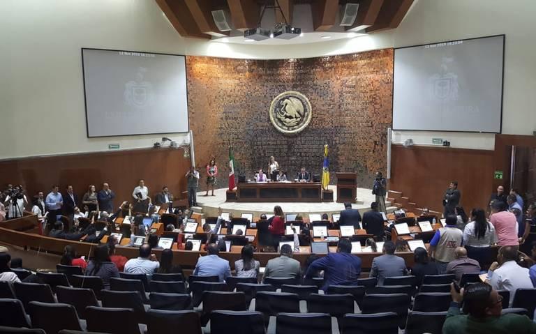 Diputados aprueban la Ley de Ingresos del Estado para el 2020