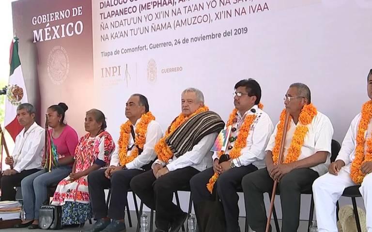 Desaparición de normalistas de Ayotzinapa y homicidio de Arnulfo Cerón no son crímenes de estado: AMLO