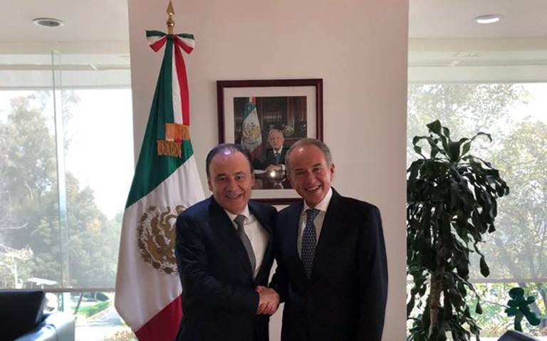 JM Carreras y Alfonso Durazo revisan avances en seguridad en SLP