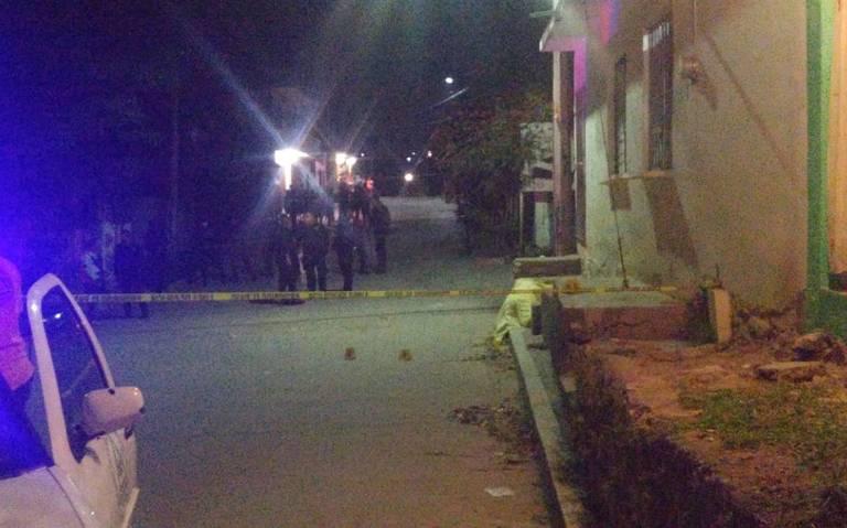 """Asesinan a mano armada a joven en """"Las Granjas"""""""