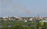 Nube tóxica genera alarma en la zona