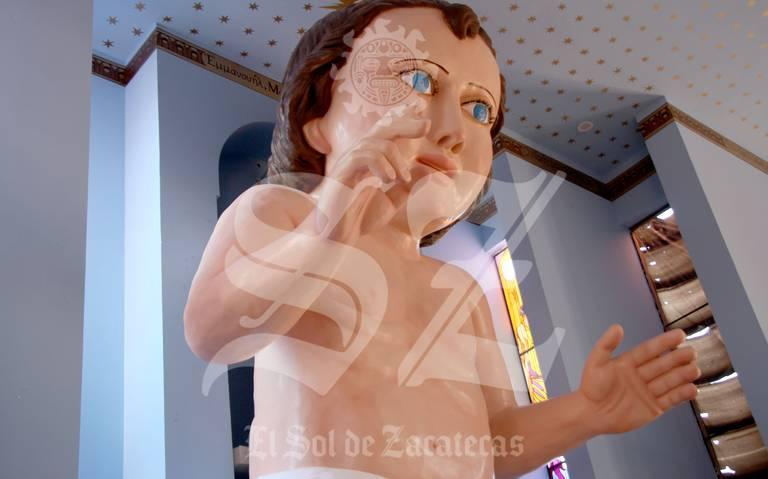 Aquí la verdadera historia del Niño Dios gigante de Zacatecas