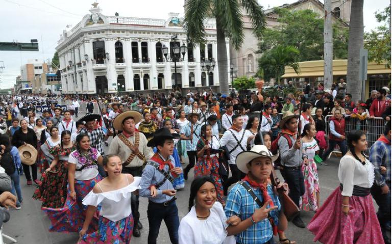Todo listo para el desfile del 109 aniversario de la revolución