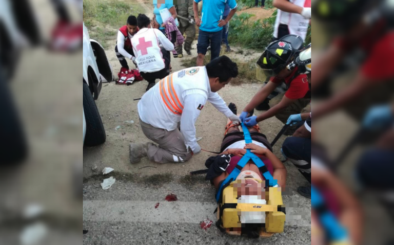 Fuerte accidente en la carretera Tuxtla – San Fernando