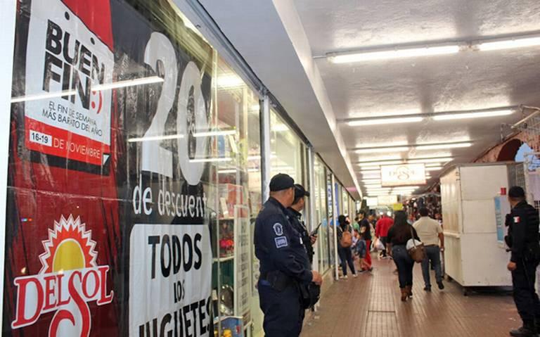 Más de 4 mil policías vigilarán el Buen Fin